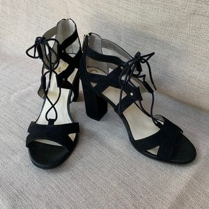 🖤Circus by Sam Edelman Lace Up Black Heels
